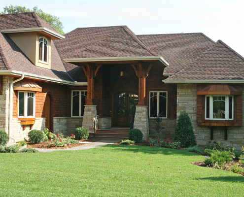 whole home remodeling, minnetonka mn exterior detail EDG